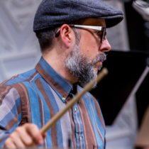 John Hollenbeck at National Sawdust, 2015 ©Scott Friedlander