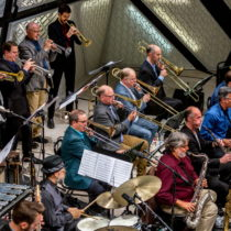 John Hollenbeck Large Ensemble at National Sawdust, 2015 ©Scott Friedlander