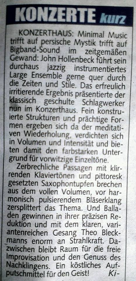 Kronen review_Austria_JHLE Feb 2014